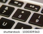 eight  8 asterisk number... | Shutterstock . vector #1030309363