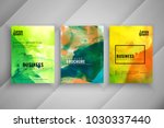 abstract colorful business... | Shutterstock .eps vector #1030337440