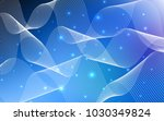 dark blue vector cover with... | Shutterstock .eps vector #1030349824