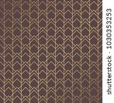 art deco pattern. seamless...   Shutterstock .eps vector #1030353253
