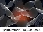 dark red vector cover with... | Shutterstock .eps vector #1030353550