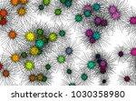 light colored vector background ... | Shutterstock .eps vector #1030358980