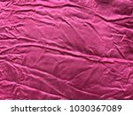 deeply crinkled colourful silky ... | Shutterstock . vector #1030367089