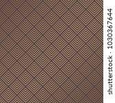 art deco pattern. seamless... | Shutterstock .eps vector #1030367644