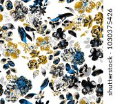 watercolor seamless pattern...   Shutterstock . vector #1030375426
