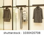 luxury and fashionable brand... | Shutterstock . vector #1030420708