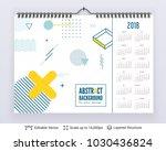 english planning calendar....   Shutterstock .eps vector #1030436824
