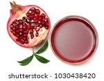 pomegranate juice with... | Shutterstock . vector #1030438420