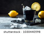 detox activated charcoal black... | Shutterstock . vector #1030440598