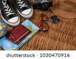 summer vacation  travel ... | Shutterstock . vector #1030470916