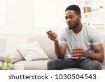 serious african american man...   Shutterstock . vector #1030504543
