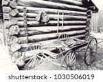 old wild west | Shutterstock . vector #1030506019