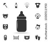 sippy cup icon. set of child... | Shutterstock .eps vector #1030511950