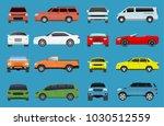 car type vector model vehicle... | Shutterstock .eps vector #1030512559