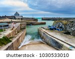 charlestown harbour as the... | Shutterstock . vector #1030533010