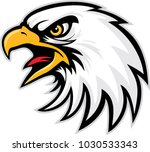 eagle head mascot | Shutterstock .eps vector #1030533343