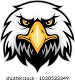 eagle head mascot | Shutterstock .eps vector #1030533349