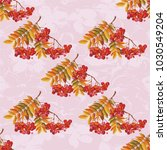seamless floral pattern with...   Shutterstock .eps vector #1030549204