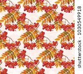 seamless floral pattern with...   Shutterstock .eps vector #1030549918