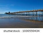 seascape with panoramic view of ... | Shutterstock . vector #1030550434