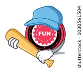 playing baseball funfair coin... | Shutterstock .eps vector #1030561504