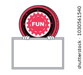 with board funfair coin... | Shutterstock .eps vector #1030561540