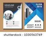 design cover brochure layout... | Shutterstock .eps vector #1030563769