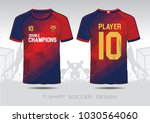 blue and red layout football... | Shutterstock .eps vector #1030564060