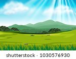 background scene with green... | Shutterstock .eps vector #1030576930