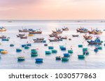 Colorful Fishing Boat Float On...
