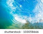 ocean wave | Shutterstock . vector #103058666