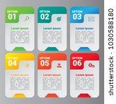 banner infographics template   Shutterstock .eps vector #1030588180