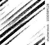 grunge halftone black and white ... | Shutterstock . vector #1030589128