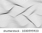 wave lines pattern abstract...   Shutterstock .eps vector #1030595923
