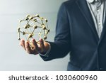 businessman hand holder signs... | Shutterstock . vector #1030600960