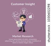 customer insight market... | Shutterstock .eps vector #1030602298