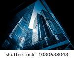 commercial building in... | Shutterstock . vector #1030638043