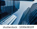 commercial building in...   Shutterstock . vector #1030638109