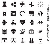 solid black vector icon set  ... | Shutterstock .eps vector #1030648630