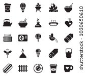 solid black vector icon set  ... | Shutterstock .eps vector #1030650610