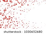 light red vector hearts... | Shutterstock .eps vector #1030652680