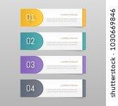 sticker label colorful set | Shutterstock .eps vector #1030669846