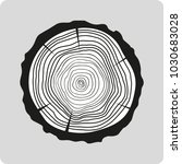 tree rings wood abstract web... | Shutterstock .eps vector #1030683028