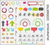Infographic Elements  Vector...