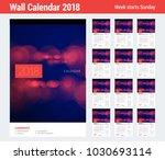 wall calendar planner template... | Shutterstock .eps vector #1030693114