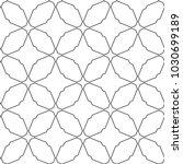 seamless geometric ornamental...   Shutterstock .eps vector #1030699189