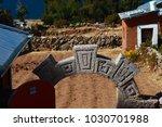 puno  peru   september 17 2008  ... | Shutterstock . vector #1030701988
