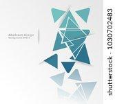 minimalistic design  creative...   Shutterstock .eps vector #1030702483