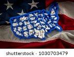 healthcare  opioid epidemic and ... | Shutterstock . vector #1030703479
