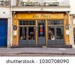 paris  france  on november 1 ...   Shutterstock . vector #1030708090